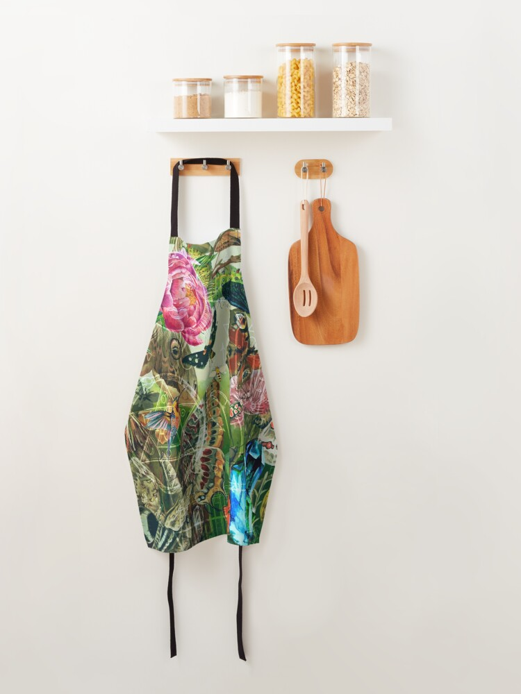 Alternate view of The Cabinet of Curiosities Apron