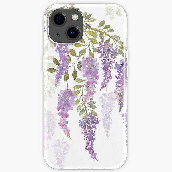 Wisteria Blossoms iPhone Soft Case