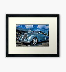 Gotham Cruiser Framed Print