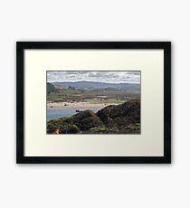 Coastal Tidelands Framed Print