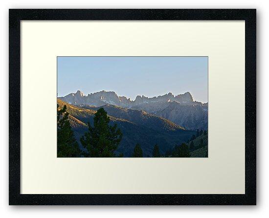 Jagged Mountain Peaks II by DaveKoontz