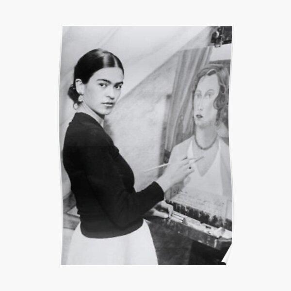 Frida Khalo artiste peintre t-shirt Poster