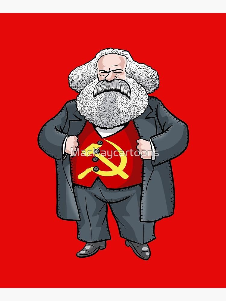 Karl Marx by MacKaycartoons