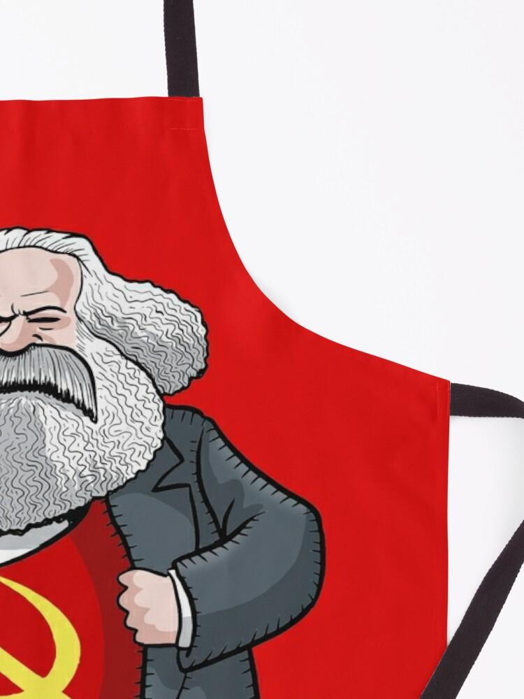 Alternate view of Karl Marx Apron