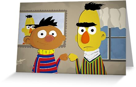 Bert and Ernie by Adam Leonhardt