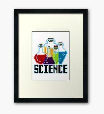 SCIENCE - Chemicals Framed Print