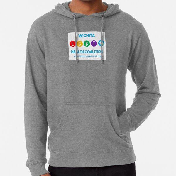 Wichita LGBT+ Health Coalition Lightweight Hoodie