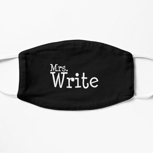 Mrs. Write (wh) Flat Mask