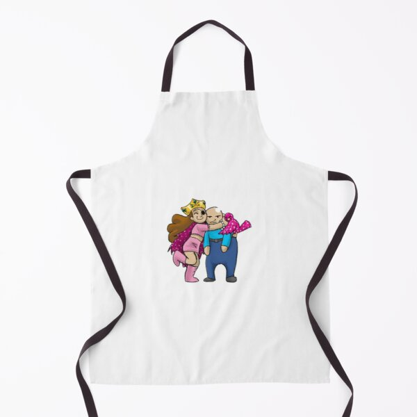 The Old Man and the Pirate Princess Apron
