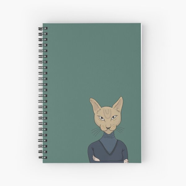 Angela Cat  Spiral Notebook