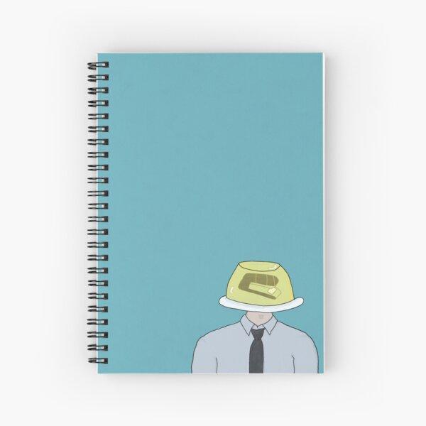 Jim Jello Stapler  Spiral Notebook