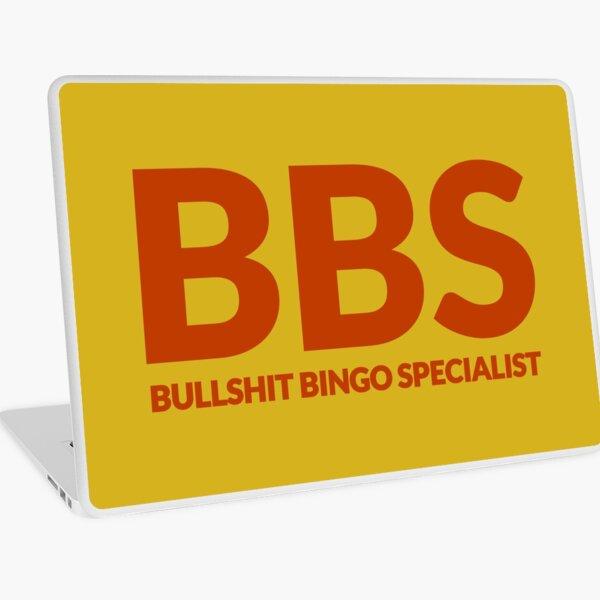 Bullshit Bingo Specialist Laptop Folie