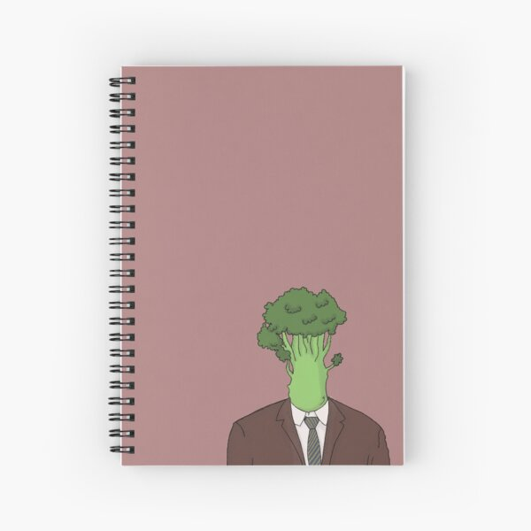 Kevin Broccoli  Spiral Notebook