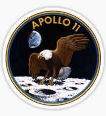 Apollo 11 Patch Art Sticker