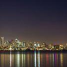Seattle Skyline by Will Rynearson