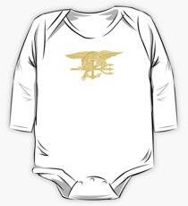 Navy SEALs Emblem Baby Body Langarm