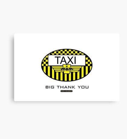 Taxi Mom VRS2 Canvas Print