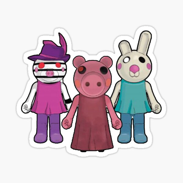 Roblox Characters Stickers Redbubble