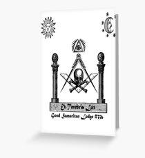 Brother hood Greeting Card