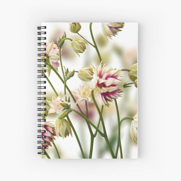 Aquilegia Spiral Notebook