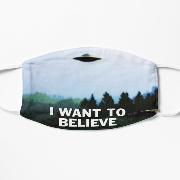 The X Files I Want to Believe Mask