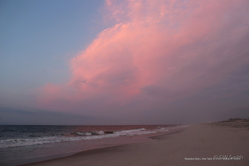 Pink Morning Clouds | Hampton Bays, New York  by © Sophie W. Smith