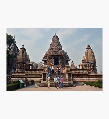 Lakshmana Temple Khajuraho AD 930-950 Photographic Print