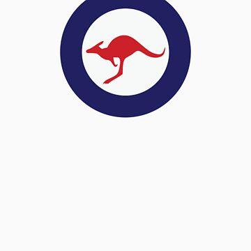 RAAF Roundel.  by redwoodkiwi