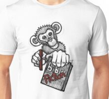 Monkey Bible Fiction Unisex T-Shirt