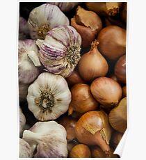 Garlic & Onions Poster