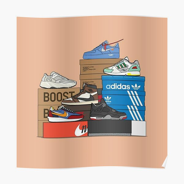 Sneaker Collabs Poster