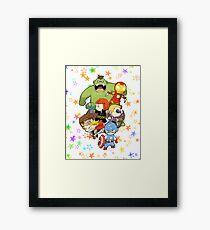 Babie Avengers Framed Print