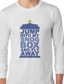 Snog Box (Tardis) Long Sleeve T-Shirt