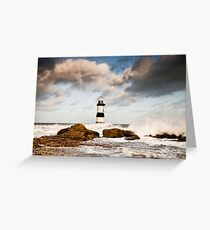 Stormy Seas by Smart Imaging Greeting Card