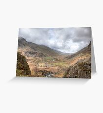 Valley View by Smart Imaging Greeting Card