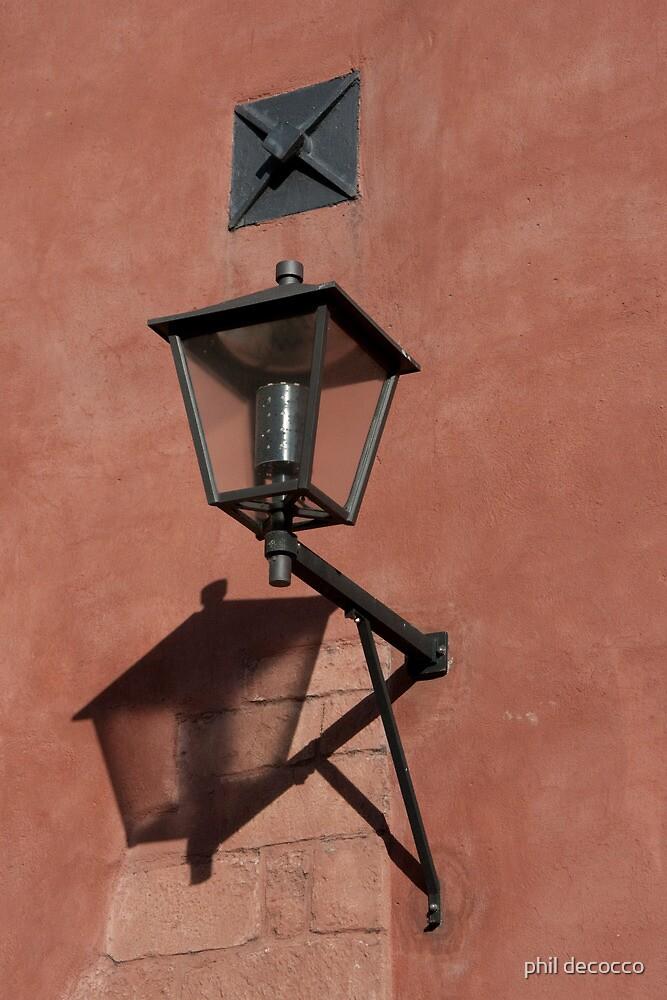 Lantern Shadow by phil decocco