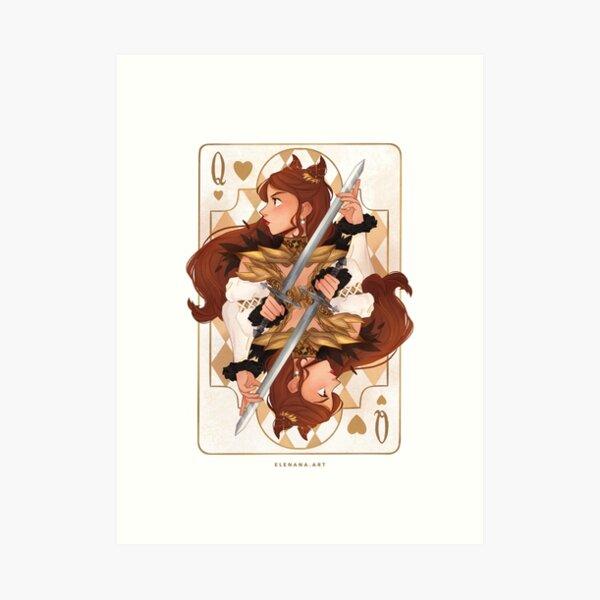 Jude Duarte Card Design Art Print