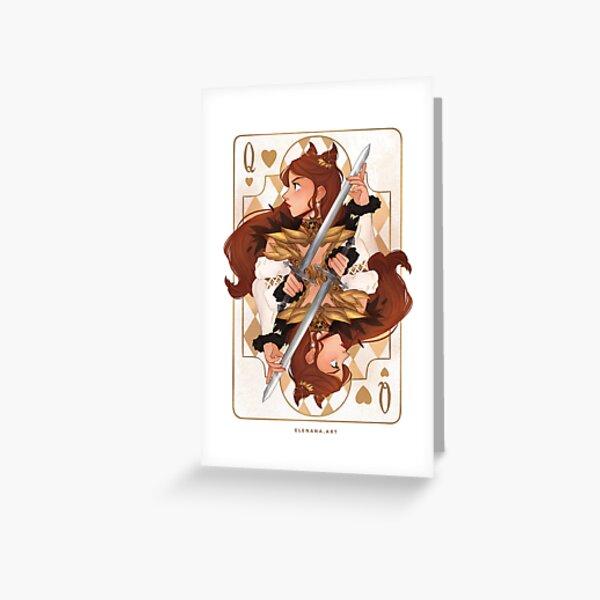 Jude Duarte Card Design Greeting Card