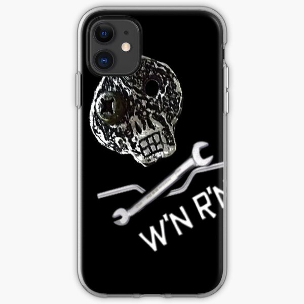 Wrench'N Ride'N skull  iPhone Soft Case