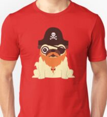 Pug in a crew Unisex T-Shirt
