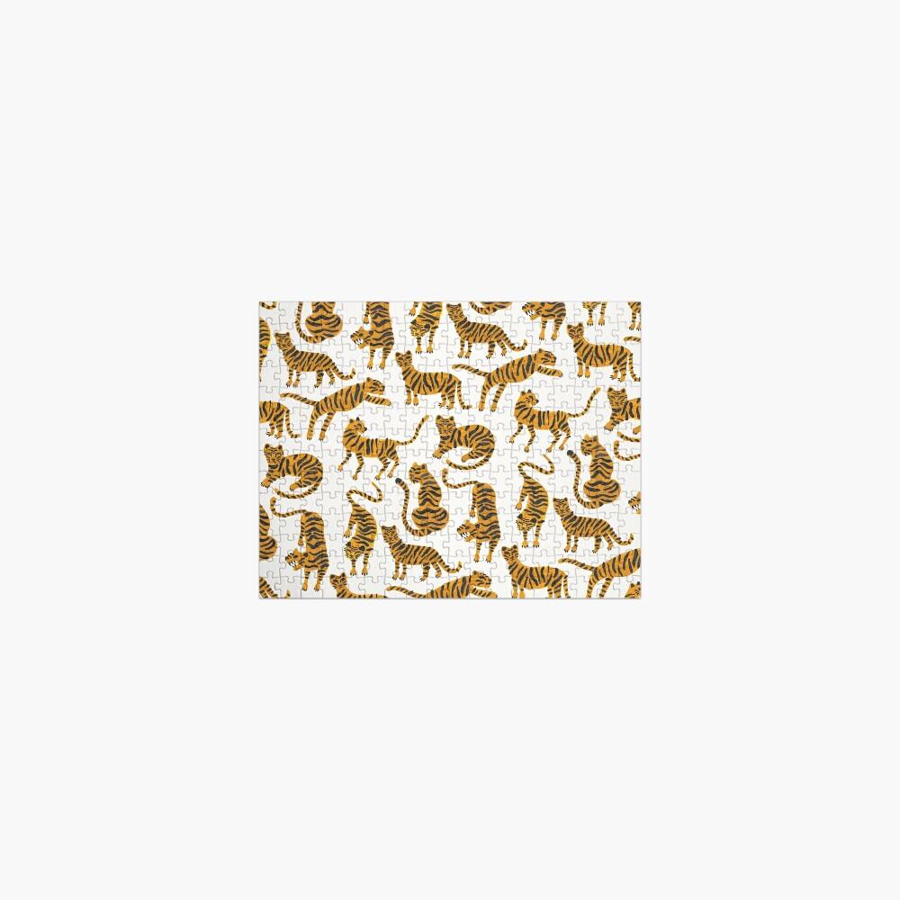 Tiger Collection – Orange Palette Jigsaw Puzzle
