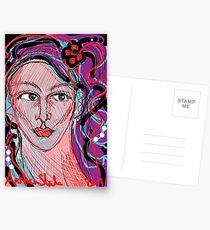 A Tenacious Woman  Postcards