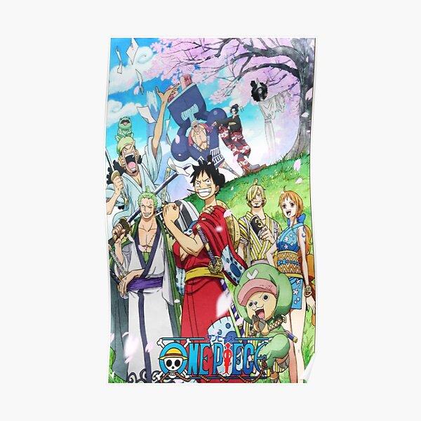 Coque One Piece Wano-Kuni Poster