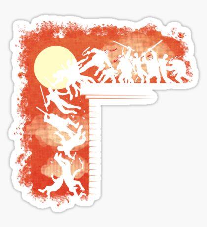 THIS IS COWABUNGA! Sticker