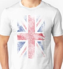 Union Jack - Flag Great Britain - Vintage Look Unisex T-Shirt