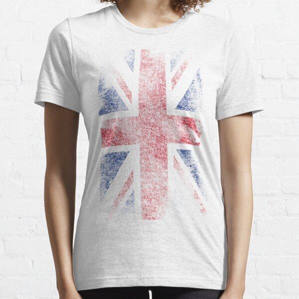 Union Jack - Flagge Großbritannien - Vintage Look Essential T-Shirt