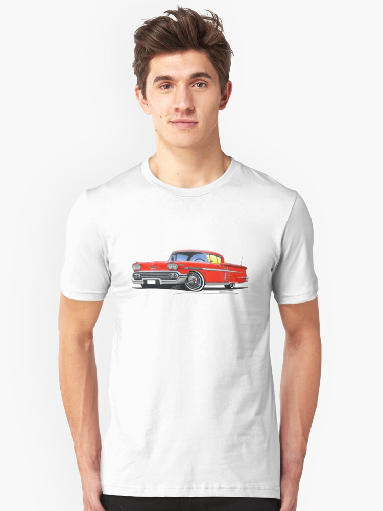 Chevrolet Bel Air Impala (1958) Red by yeomanscarart