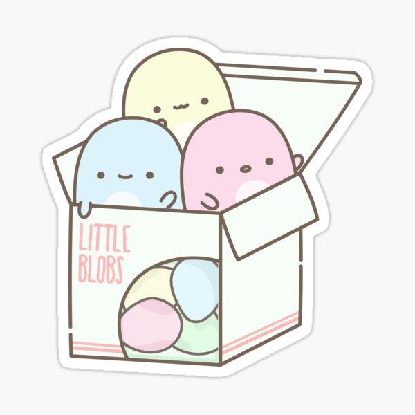 Little Blobs: Box of Candy Sticker