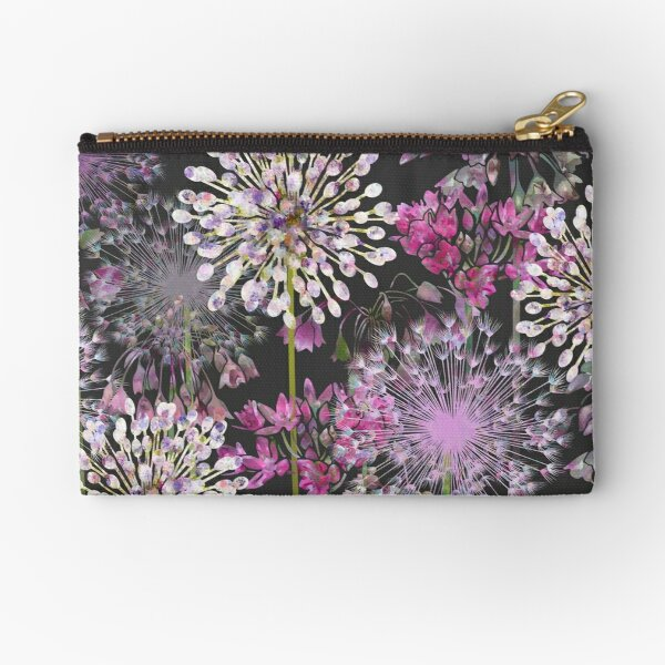 Allium Meadow Zipper Pouch
