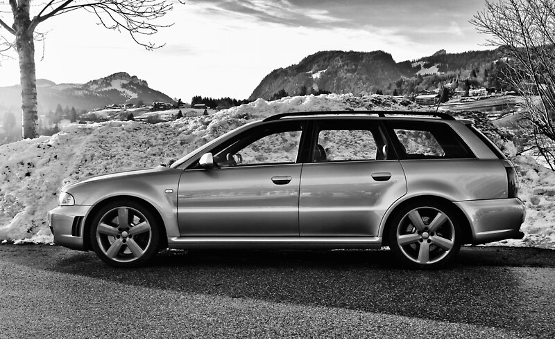 audi rs4 avant b5 posters by micha dijkhuizen redbubble. Black Bedroom Furniture Sets. Home Design Ideas